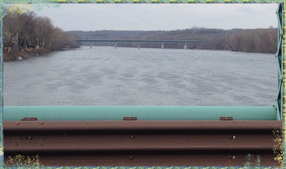 New Hope - Lambertville Bridge - Delaware River
